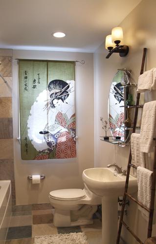 Bathroom art work